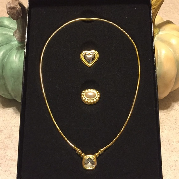 Joan Rivers Jewelry - BNWT JOAN RIVERS INTERCHANGEABLE 3 IN 1 NECKLACE